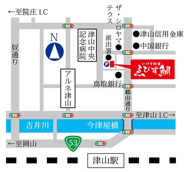 いけす和楽 ゑびす鯛 地図
